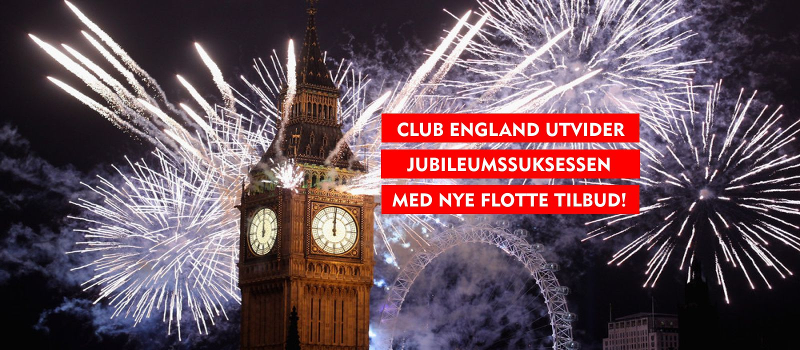Club Englands Jubileums-suksess